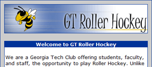 Georgia Tech Roller Hockey