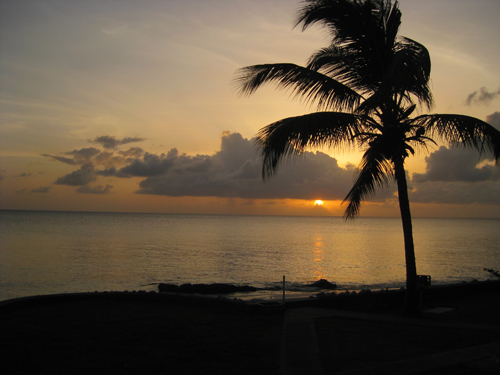 Sunset at the Seabreeze Condo, St. Croix